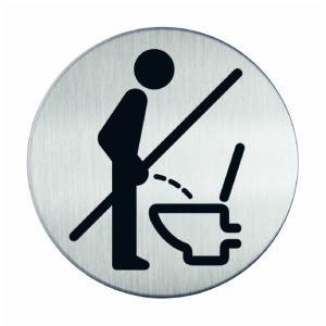 Piktogram Ø8.3 WC Proszę Usiąść
