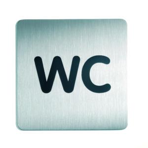 Piktogram 15x15cm WC