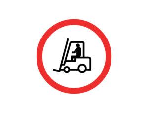 Znak Zakaz Wózków