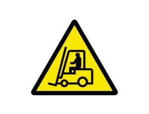 Znak Uwaga Wózki